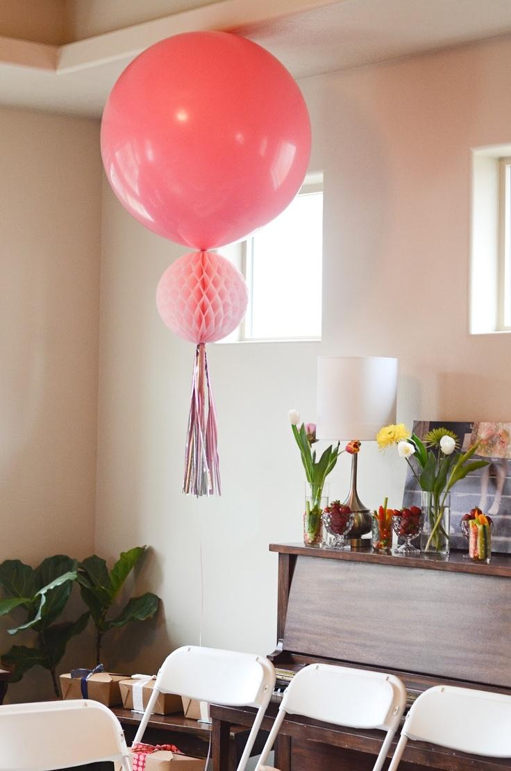Wedding decoration ideas balloons  Julie Roudaire julie on Pinterest