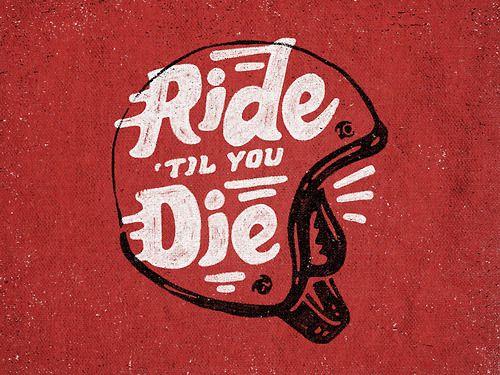 trendgraphy:  Ride Til You Die by Joe Horacek