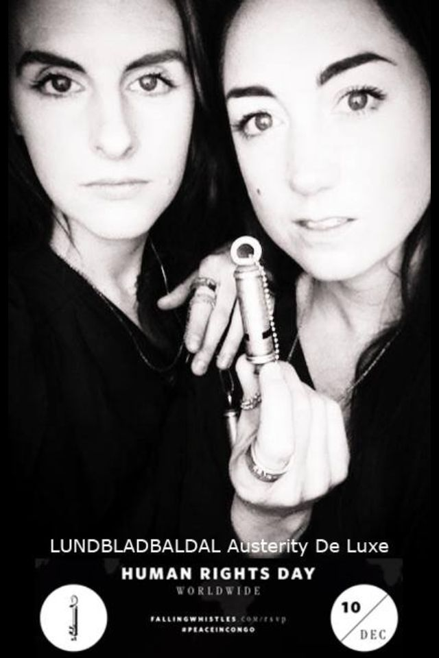 Today LUNDBLADBALDAL celebrate the global human rights day. Together with the organisation FALLING WHISTLES we stand for peace in Congo.   Be a whistle blower for peace | Buy a whistle www.fallingwhistles.com www.lundbladbaldal.se
