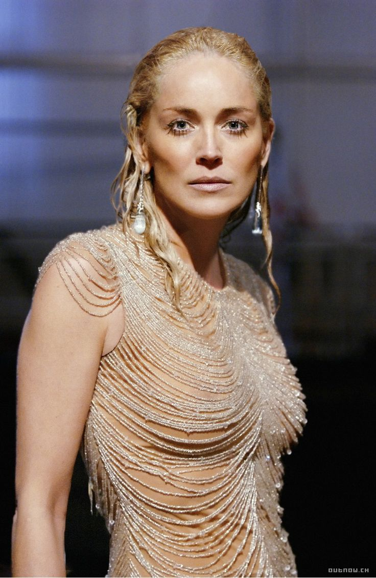 "Sharon Stone. this is so ""at night i'm a mermaid"". love it."