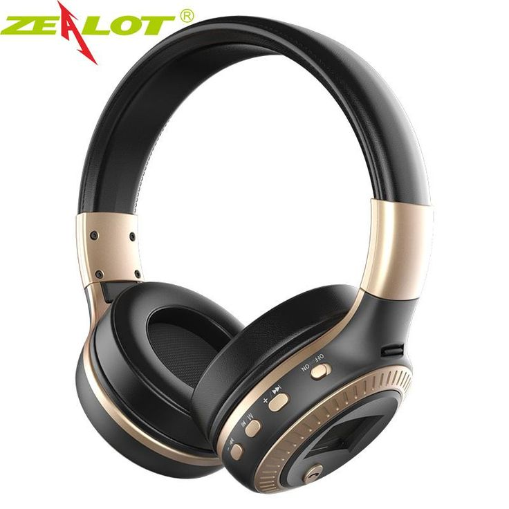 Introducing,   Zealot Headphones...   http://www.zxeus.com/products/zealot-headphones-earphones-b19-wireless-bluetooth-stereo-bass-with-microphone-tf-slot-radio-lcd-for-phone-xiaomi-headset-mi?utm_campaign=social_autopilot&utm_source=pin&utm_medium=pin