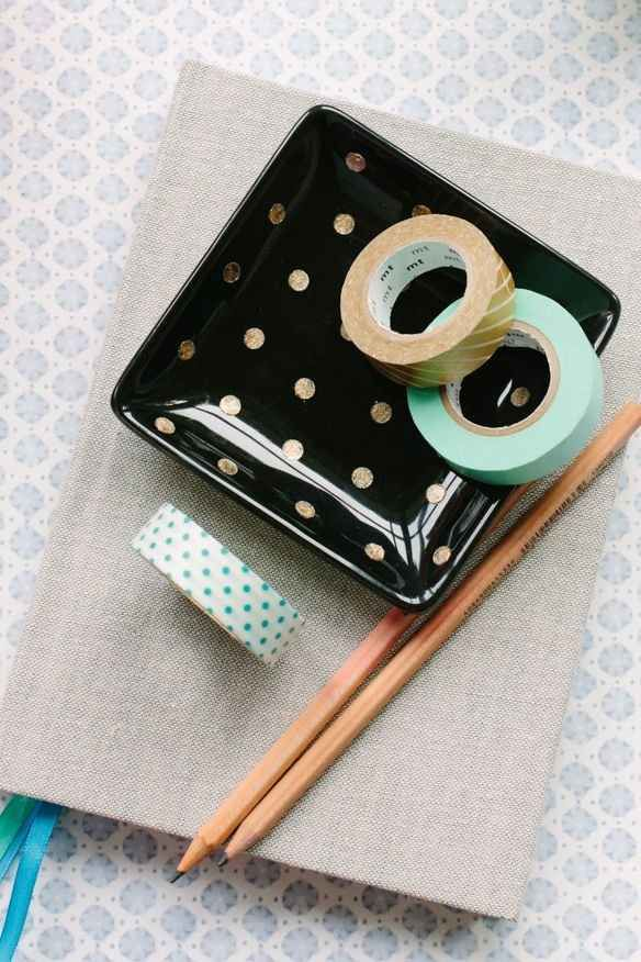Paint polka dots on anything with reinforcement