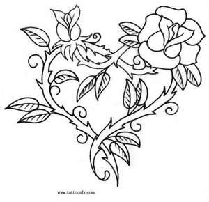 136 best Roses to Color images on Pinterest | Coloring pages ...
