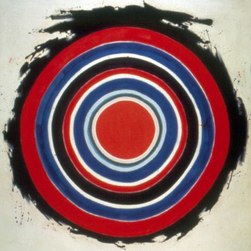 "Kenneth Noland's ""Beginning"""