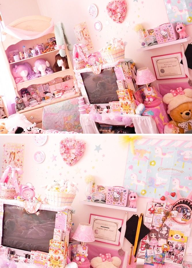 Who knew bedroom clutter can actually look good! :3