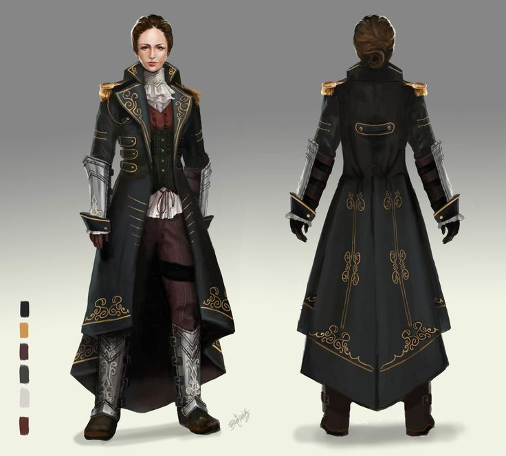 Neo-Victorian Soldier Concept, Stephanie Lee on ArtStation at https://www.artstation.com/artwork/neo-victorian-soldier-concept