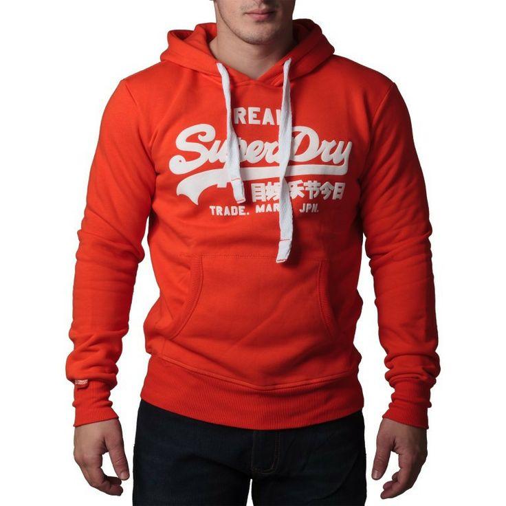 """Ανδρική Μπλούζα Hoodie """"Super Dry """" Real - Πορτοκαλί   http://brands4all.com.gr/collections/mens-sweatshirt/products/hoodie-super-dry-real-2"""