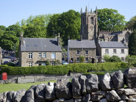 Hartington Village and Church, Peak District, Derbyshire, England, United Kingdom, Europe Photographic Print by Frank Fell - AllPosters.co.uk