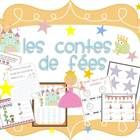 This fairy tale themed math and literacy unit is perfect for French Immersion Senior Kindergarten or Grade One.