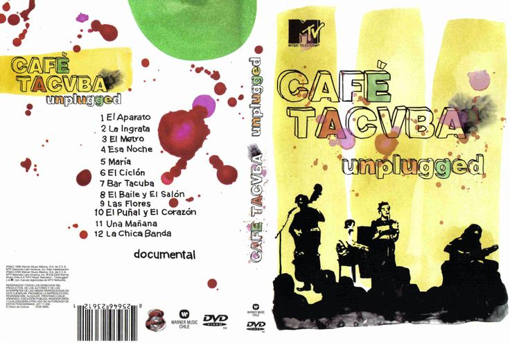 Full DVD de Cafe Tacvba MTV Unplugged