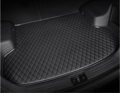 Leather Car Rear Trunk Mat Waterproof Handmade Cargo Liner For Porsche Macan 20152018black You Can Find Out More Details Cargo Liner Car Floor Mats Fit Car