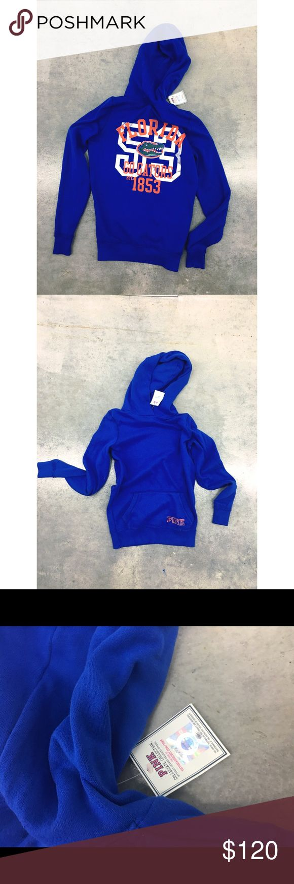 Victoria's Secret 🐊 VS collegiate FLORIDA GATORS ✨(❁´◡`❁) ωḙℓḉ✺Պḙ (❁´◡`❁)✨    🦋Description:   •Represent for Florida Gators!!  •Long sleeve / Hoodie / Kangaroo pocket on front  •Pull over style    PERFECT for summer festivals  • Coachella • Burning man • Hippie • Bohemian • Boho babe • Summer •    ✨     🦋 Brand: Victoria's Secret PINK - Collegiate collection   ✨   🦋Size: Small   ✨   🦋Condition: NWT     ✨  (please refer to all photos Don't hesitate to ask ANY and ALL question before…