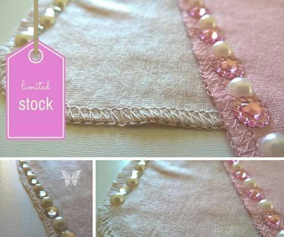 Add some bling to your hijab. Available in variety of colours.