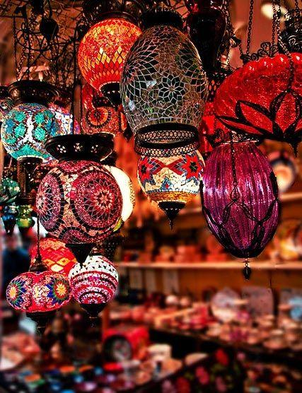 lámparas-estilo-marroquí                                                       …