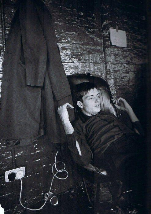 Ian Curtis, backstage