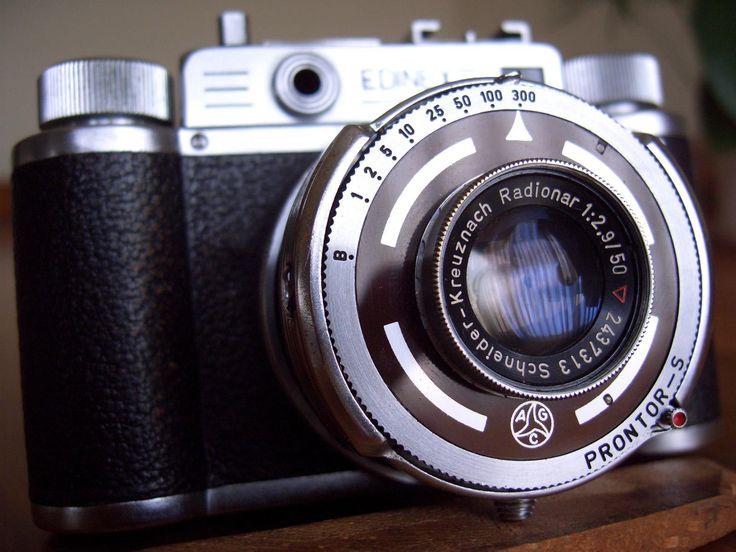 WIRGIN EDINEX III, 35mm rangefinder camera, Germany, RADIONAR 50mm f2.9 lens   eBay