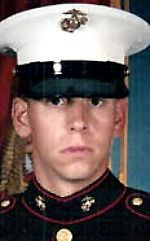 Marine Cpl. Stephen P. Johnson, 24, of Covina, California. Died January 26, 2005, serving during Operation Iraqi Freedom. Assigned to 1st Battalion, 3rd Marine Regiment, 3rd Marine Division, III Marine Expeditionary Force, Marine Corps Base Hawaii. Died of injuries sustained when the CH-53E Super Stallion troop transport helicopter he was in crashed in a sandstorm near Rutbah, Anbar Province, Iraq.
