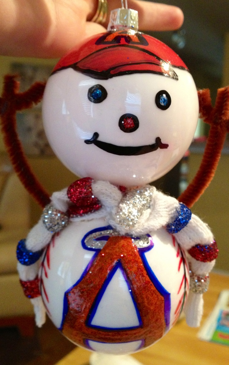 Sports christmas ornaments - Sports Themed Christmas Ornaments