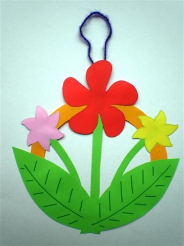 flower power peace sign craft kids