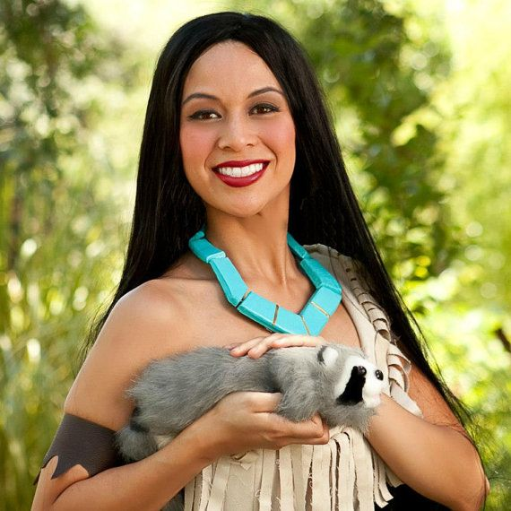 Pocahontas Indian Princess Costume Wig Adult by BbeautyDesigns