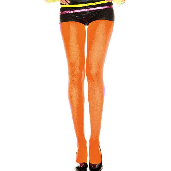 Women's Sexy Opaque TightsRegular/Neon ($12) ❤ liked on Polyvore featuring intimates, hosiery, socks, orange, socks & hosiery, orange stockings, orange tights, sexy hosiery, neon stockings and opaque pantyhose