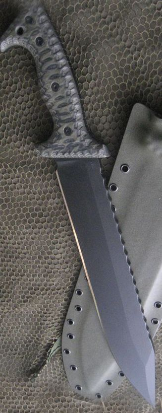 Miller Bros. Blades Customized M-20 Tactical Fixed Blade Knife @aegisgears