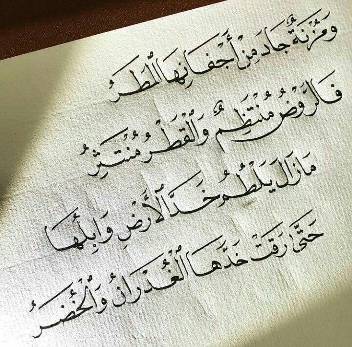 Pin By Rahma Qandeel On أب ي ات و أش ع ار Arabic Poetry Arabic Language Arabic Calligraphy