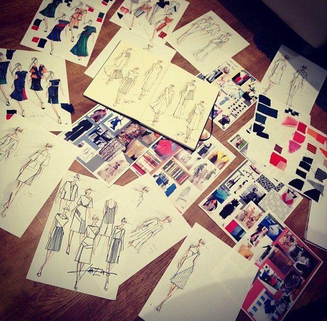 Fashionary sketches
