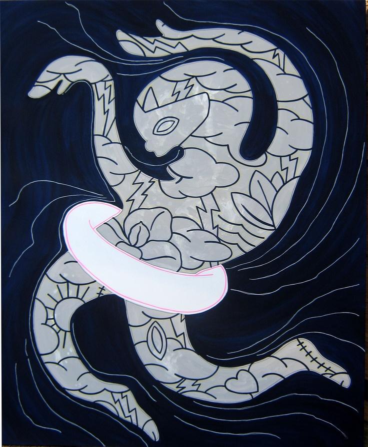 """andrea mattiello """"affogo in acque blu""""  acrilico cm 100x120; 2010 #andreamattiello #mattiello #arte #art #contemporaryart #italianartist #artista #artistaemergente #acrilico #tela #tecnicamista #acrylic #canvas #collage"""