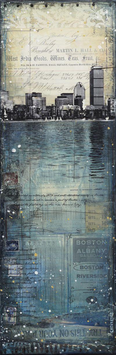 Across the Charles No. 1 by Mae Chevrette