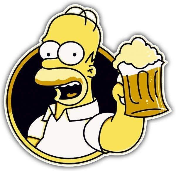 Pin De Claudia Catalan Em Bebidas Simpsons Personagens Festa Dos Simpsons Desenho Dos Simpsons