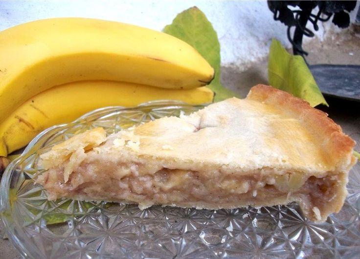 Banános pite recept