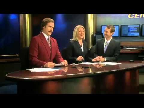 Will Ferrell as Ron Burgundy on a North Dakota TV newscast. -- This. This is the best type of marketing.