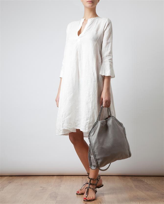 DOSA   Organic Hemp Tunic Dress   Browns fashion & designer clothes & clothing