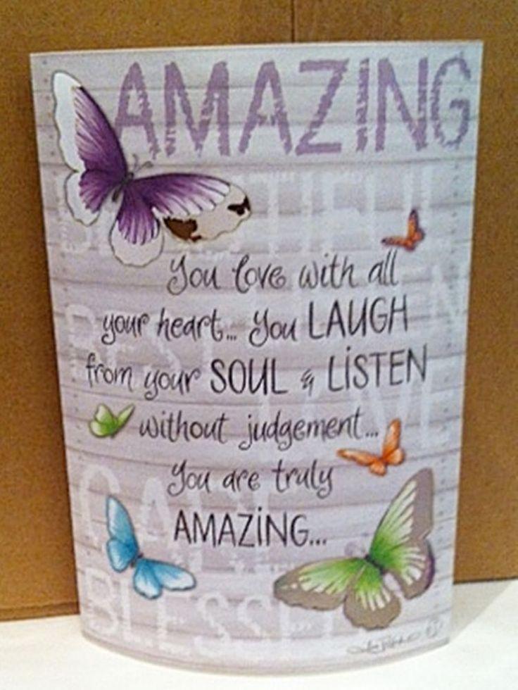 Amazing Paper Lantern LED Night Light Up LOVE SOUL butterflies - Lisa Pollock