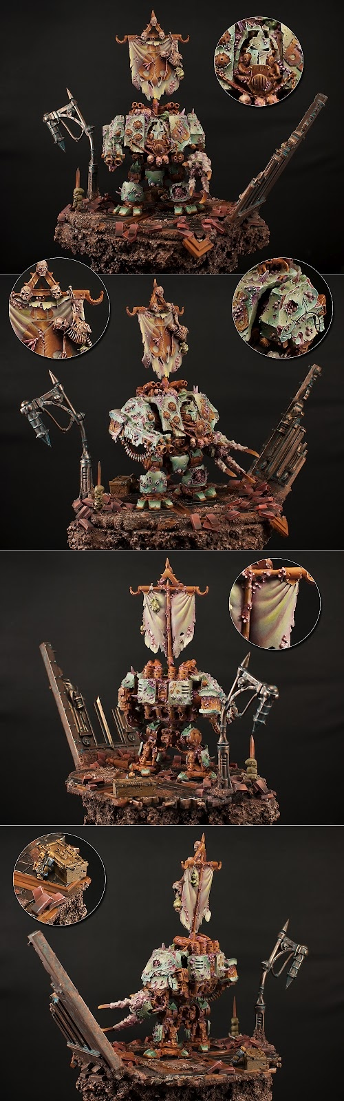 Warhammer 40k - Chaos Space Marines, Nurgle Dreadnought