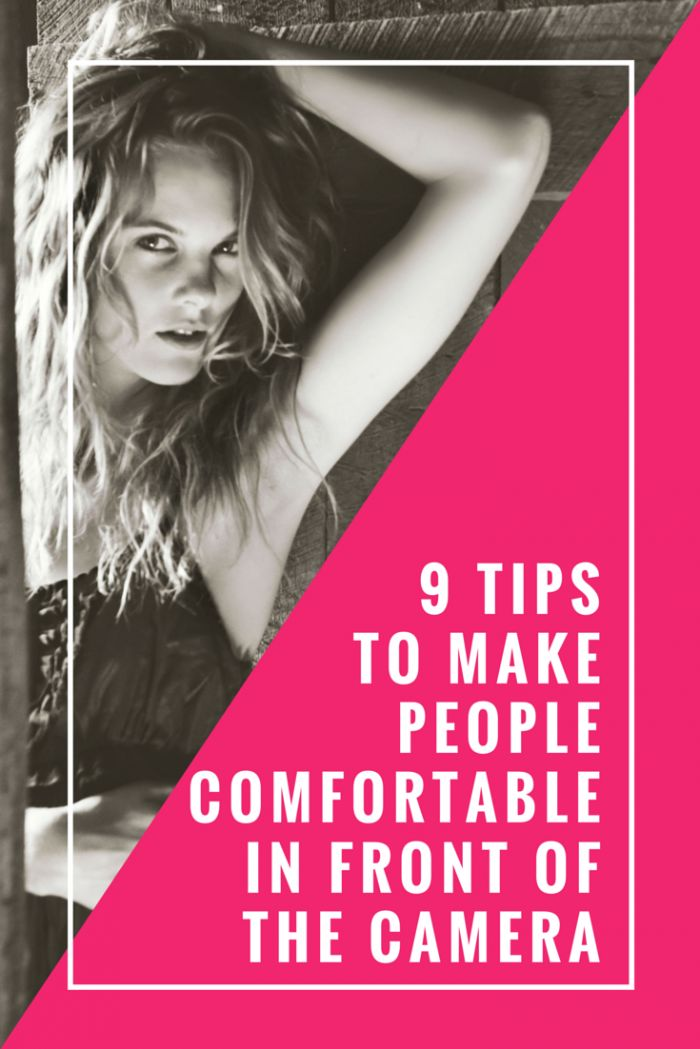 Take better photos for your blog and life with these 9 tips to make people comfortable in front of the camera!