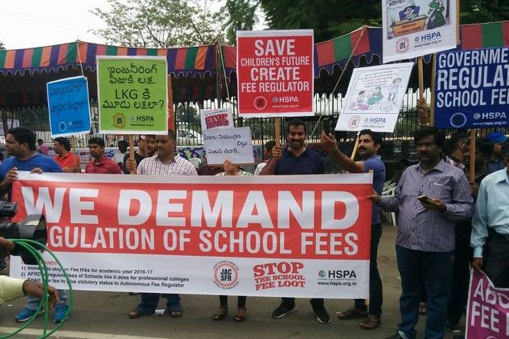 162 private schools in Telangana served notices over fee hike, parents demand action http://www.thenewsminute.com/article/162-private-schools-telangana-served-notices-over-fee-hike-parents-demand-action-60171?utm_campaign=crowdfire&utm_content=crowdfire&utm_medium=social&utm_source=pinterest