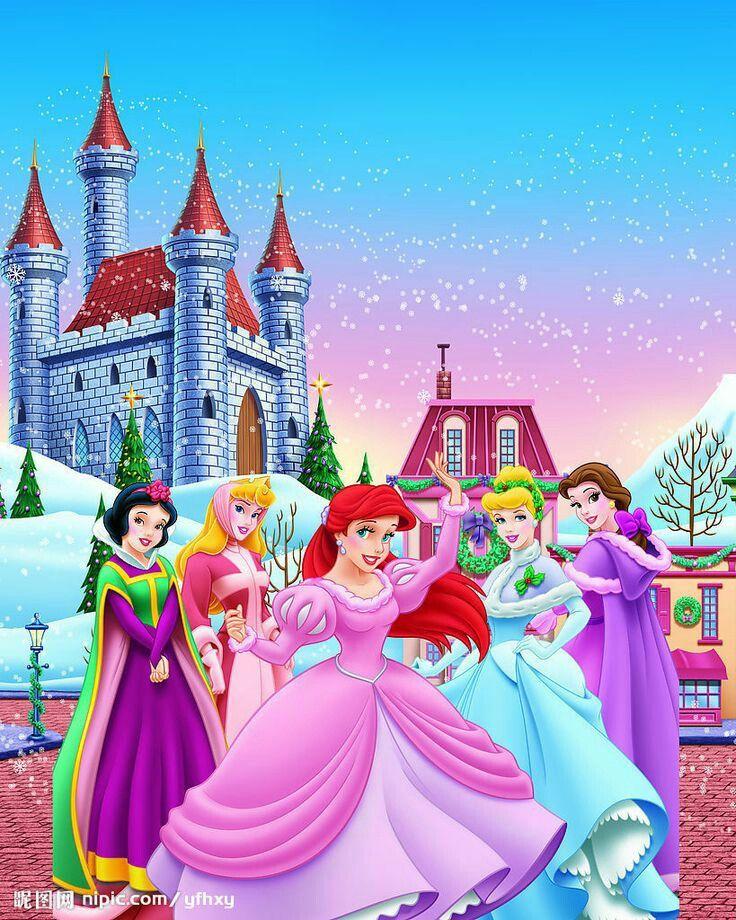 A Disney Princess Christmas