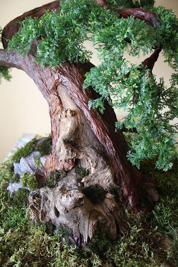 Sztuczne drzewko bonsai zokei wykonane na indywidualne zamówienie. Zapraszam również na moją stronę: https://www.facebook.com/swiatbonsaizokei