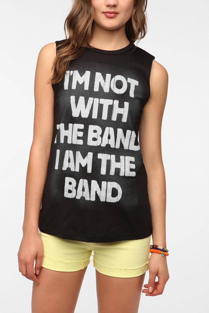 UrbanOutfitters.com > Corner Shop I Am The Band Muscle Tee