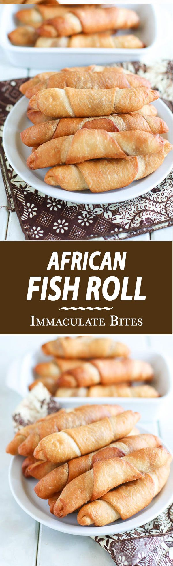 "Over the years I have tried several times to make African fish pie or Fish roll, as is commonly called in Cameroon, but was extremely disappointed at the results. Then, one of my aunts said casually,  ""Well, it is just puff- puff mixture with butter , and  sardines"" and it hit me ""Duh! That's …"