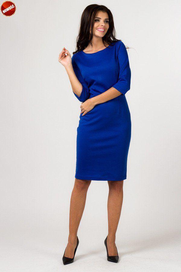 c01df4c584ee Chabrowa sukienka plus size XXL dzianina  sukienki  plus  size  odzież   damska