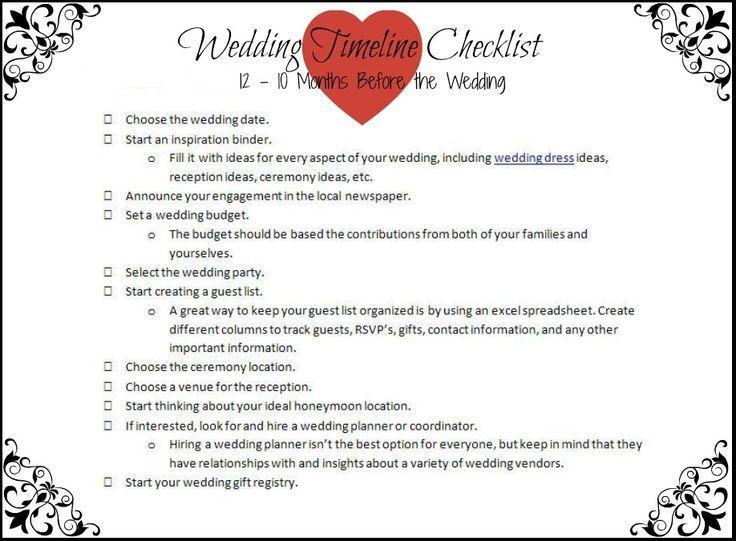 Best Wedding Timeline Ideas Images On   Timeline