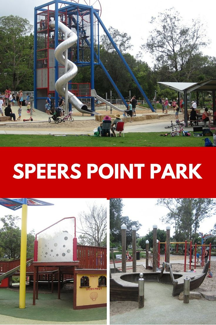 How amazing is the massive Speers Point Variety Park in Lake Macquarie? It's a parent's dream as there is something for children of all ages.