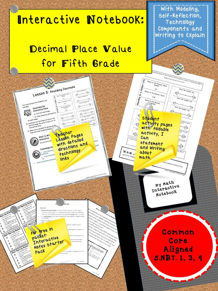 decimal place value interactive notebook decimal places and math questions. Black Bedroom Furniture Sets. Home Design Ideas