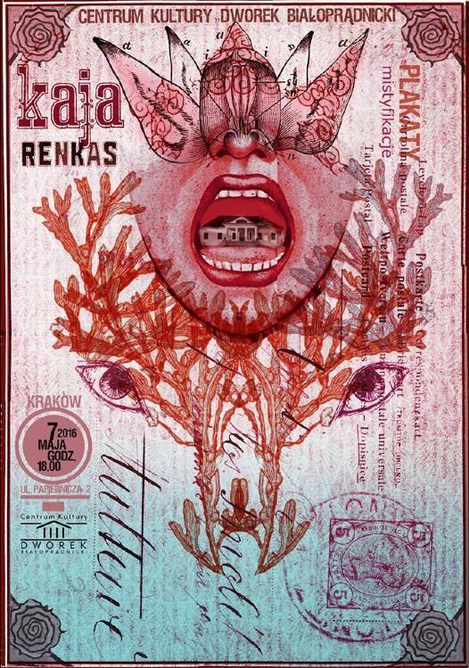 Kaja Renkas, Plakaty Mistyfikacje, 2016, Size: B1