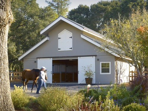 Winding Way Residence   Traditional   Garage And Shed   San Francisco    Simpson Design Group Architects