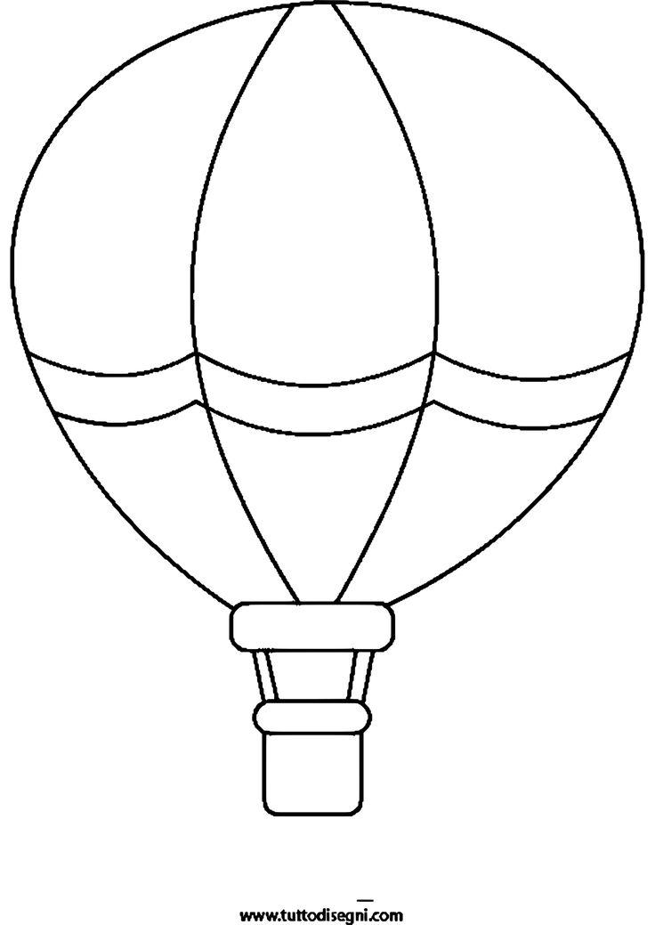 10 Besser Malvorlage Heißluftballon Idee 2020