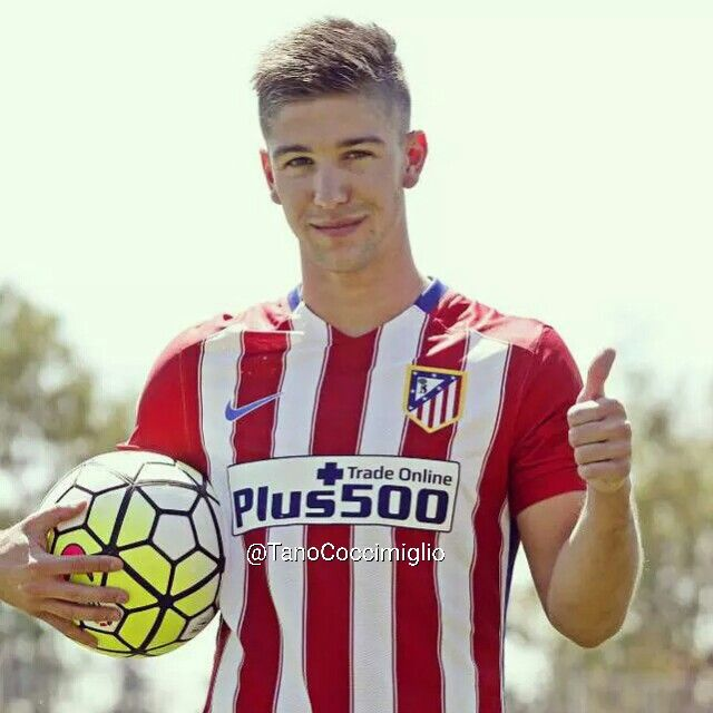 Luciano Vietto ya es jugador del Atlético de Madrid.